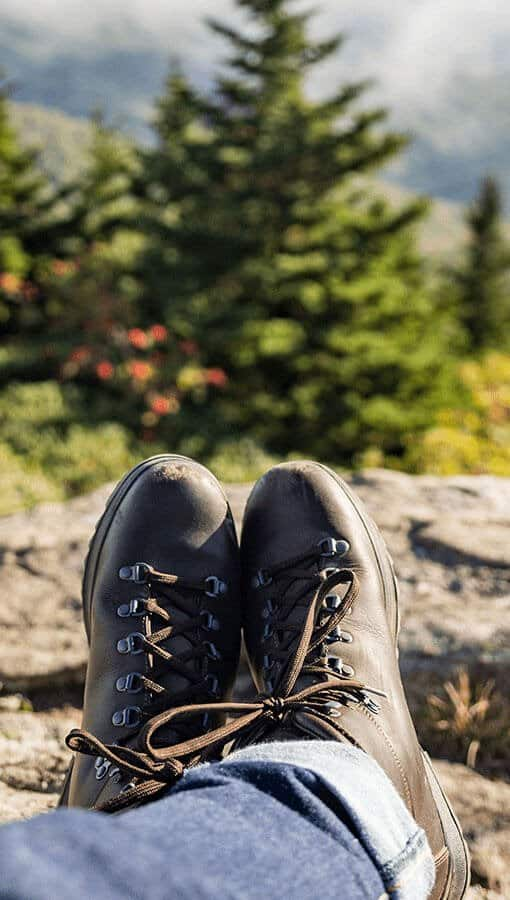 Wanderschuhe Natur Work Life Balance Chill out
